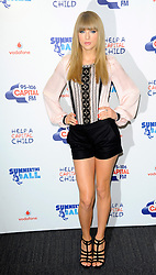 Capital Summertime Ball<br /> Taylor Swift during photocall ahead of performing at the Capital Summertime Ball, Wembley Stadium,<br /> London, United Kingdom<br /> Sunday, 9th June 2013<br /> Picture by Chris  Joseph / i-Images