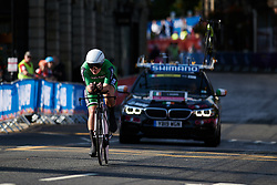 Lara Gillespie (IRL) at UCI Road World Championships 2019 Junior Women's TT a 13.7 km individual time trial in Harrogate, United Kingdom on September 23, 2019. Photo by Sean Robinson/velofocus.com