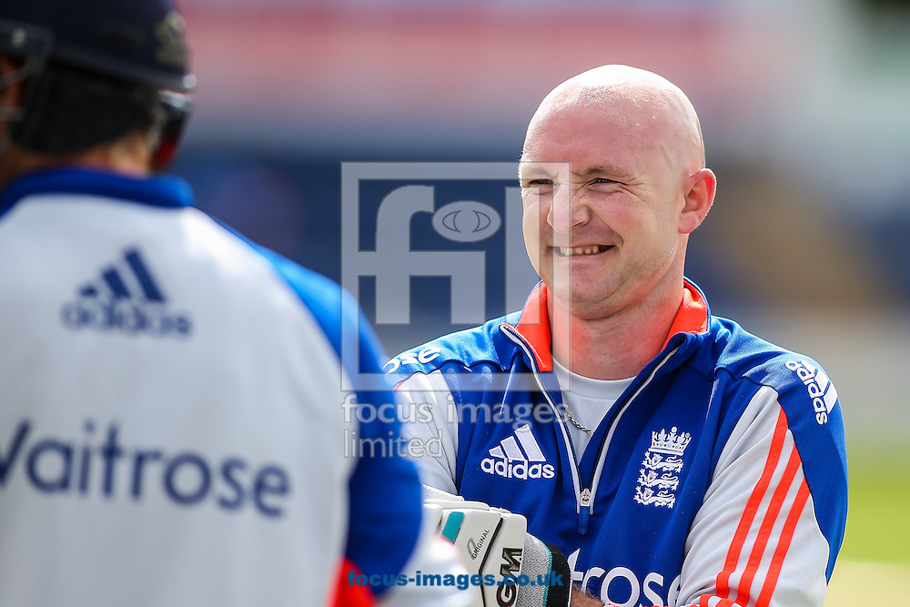 Adam Lyth during the England Cricket Practice before the first Test Match of the Investec Ashes Series at Sophia Gardens, Cardiff<br /> Picture by Andy Kearns/Focus Images Ltd 0781 864 4264<br /> 07/07/2015