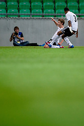 Maximilian Meyer of Germany celebrates scoring his second goal during the UEFA European Under-17 Championship Group A match between Germany and France on May 10, 2012 in SRC Stozice, Ljubljana, Slovenia. Germany defeated France 3:0. (Photo by Matic Klansek Velej / Sportida.com)