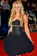 24.JANUARY.2012. LONDON<br /> <br /> CHEMMY ALCOTT AT THE WOMAN IN BLACK PREMIERE HELD AT THE ROYAL FESTIVAL HALL IN LONDON<br /> <br /> BYLINE: EDBIMAGEARCHIVE.COM<br /> <br /> *THIS IMAGE IS STRICTLY FOR UK NEWSPAPERS AND MAGAZINES ONLY*<br /> *FOR WORLD WIDE SALES AND WEB USE PLEASE CONTACT EDBIMAGEARCHIVE - 0208 954 5968*