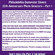 25th Anniversary Directory (Part 1)