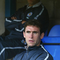 St Johnstone v Leicester City..24.07.04 (Friendly) <br />New signing Martin Keown in the dugout with Micky Adams<br /><br />Picture by Graeme Hart.<br />Copyright Perthshire Picture Agency<br />Tel: 01738 623350  Mobile: 07990 594431