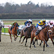 Whitby Jet and L P Keniry winning the 2.00 race