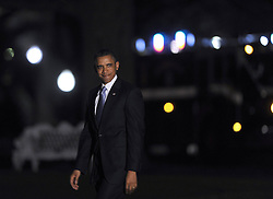 US President Barack Obama departs the White House after delivering a statement in Washington DC., the United States, January 1, 2013. Photo by Imago / i-Images...UK ONLY