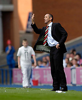 Photo: Jed Wee.<br />Glasgow Rangers v Middlesbrough. Pre Season Friendly. 22/07/2006.<br /><br />Rangers' manager Paul Le Guen.