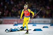 &Ouml;STERSUND, SVERIGE - 2017-12-03: fredrik Lindstr&ouml;m under herrarnas jaktstart t&auml;vling under IBU World Cup Skidskytte p&aring; &Ouml;stersunds Skidstadion den 2 december 2017 i &Ouml;stersund, Sverige.<br /> Foto: Johan Axelsson/Ombrello<br /> ***BETALBILD***