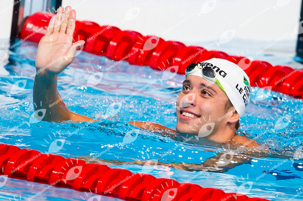Chad LeClos RSA<br /> Men's 200m butterfly semifinal<br /> Swimming<br /> 15th FINA World Aquatics Championships<br /> Barcelona 19 July - 4 August 2013<br /> Palau Sant Jordi, Barcelona (Spain) 30/07/2013 <br /> &copy; Giorgio Perottino / Deepbluemedia.eu / Insidefoto