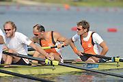 Eton Dorney, Windsor, Great Britain,..2012 London Olympic Regatta, Dorney Lake. Eton Rowing Centre, Berkshire[ Rowing]...Description;   NED M8+. training session on Dorney Lake. 10:50:43  Thursday  26/07/2012.  [Mandatory Credit: Peter Spurrier/Intersport Images].Dorney Lake, Eton, Great Britain...Venue, Rowing, 2012 London Olympic Regatta...