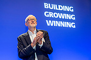Jeremy Corbyn MP. Leader of the Labour Party speaking at the PCS annual delegate conference 2019, Brighton. UK (photo by Andrew Aitchison / In pictures via Getty Images)