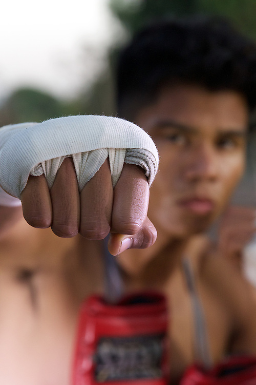 November 3rd, 2016; La Habra, California, USA; A boxer poses for a portrait at the La Habra Boxing Club. (Eric Cech/Sports Shooter Academy)