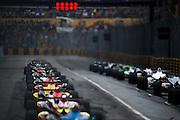 November 16-20, 2016: Macau Grand Prix. Start of the Macau F3 Grand Prix