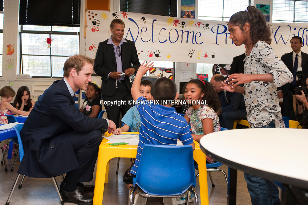 "PRINCE WILLIAM.Prince William on the first day of his tour in Australia visited the City Of Sydney's Redfern Community Centre where he spent time with children aged between 5-12 years old, reading ""Possum Magic"" to them and playing Nintendo Wii bolwing in which he got a spare.The City Of Sydney's Redfern Community Centre a dynamic inner-city facility that attracts approximetly 4000 people a month and provides a wide range of invaluable services and programs to the local community. Sydney, Australia_19/01/2010.Mandatory Credit Photo: ©DIAS-NEWSPIX INTERNATIONAL..**ALL FEES PAYABLE TO: ""NEWSPIX INTERNATIONAL""**..IMMEDIATE CONFIRMATION OF USAGE REQUIRED:.Newspix International, 31 Chinnery Hill, Bishop's Stortford, ENGLAND CM23 3PS.Tel:+441279 324672  ; Fax: +441279656877.Mobile:  07775681153.e-mail: info@newspixinternational.co.uk"