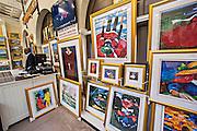 Gullah Art Gallery at the Historic Charleston City Market on Market Street in Charleston, SC.