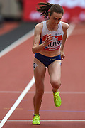 Lura Muir of Great Britain in the Women's 1 Mile during the Muller Anniversary Games at the London Stadium, London, England on 9 July 2017. Photo by Martin Cole.