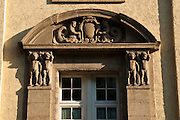 Fenster, Fassade, Kaiser-Friedrich-Therme, Wiesbaden, Hessen, Deutschland.|.window of Kaiser Friedrich Spa, Wiesbaden, Hessen, Germany
