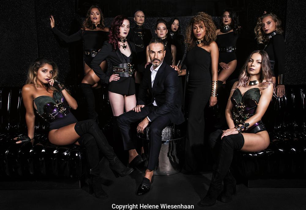 Yossi Eliyahoo,owner MadfoX nightclub, Amsterdam for Playboy