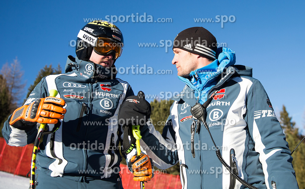 26.12.2015, Deborah Compagnoni Rennstrecke, Santa Caterina, ITA, FIS Ski Weltcup, Santa Caterina, Abfahrt, Herren, 1. Training, Streckenbesichtigung, im Bild Klaus Brandner (GER) // Klaus Brandner of Germany during the course inspection of 1st practice run of men's Downhill of the Santa Caterina FIS Ski Alpine World Cup at the Deborah Compagnoni Course in Santa Caterina, Italy on 2015/12/26. EXPA Pictures © 2015, PhotoCredit: EXPA/ Johann Groder