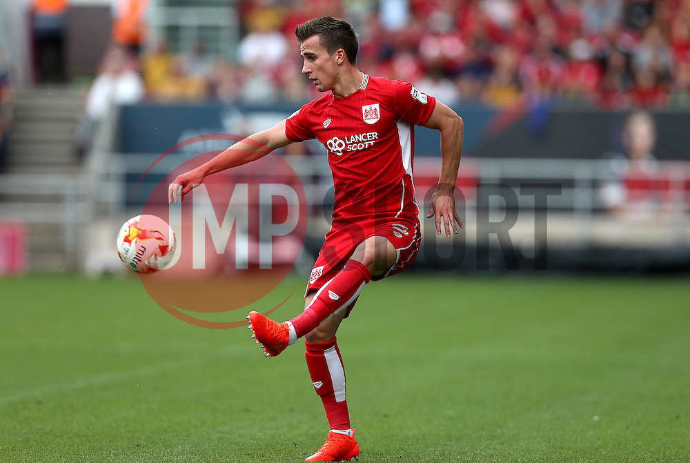 Joe Bryan of Bristol City - Mandatory by-line: Robbie Stephenson/JMP - 17/09/2016 - FOOTBALL - Ashton Gate Stadium - Bristol, England - Bristol City v Derby County - Sky Bet Championship