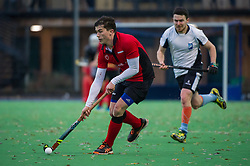 West Herts v Southgate - Men's Hockey League, East Conference, New Field, Watford, UK on 20 November 2016. Photo: Simon Parker