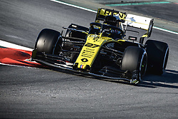 February 28, 2019 - Barcelona, Catalonia, Spain - NICO HULKENBERG (GER) from team Renault drives in his RS19 during day seven of the Formula One winter testing at Circuit de Catalunya (Credit Image: © Matthias OesterleZUMA Wire)