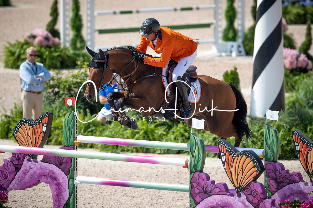 Houtzager Marc, NED, Sterrehofs Calimero<br /> World Equestrian Games - Tryon 2018<br /> © Hippo Foto - Dirk Caremans<br /> 20/09/2018