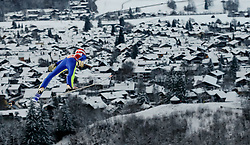 27.12.2014, Schattenbergschanze, Oberstdorf, GER, FIS Ski Sprung Weltcup, 63. Vierschanzentournee, Training, im Bild Richard Freitag (GER) // Richard Freitag of Germany// during practice Jump of 63 rd Four Hills Tournament of FIS Ski Jumping World Cup at the Schattenbergschanze, Oberstdorf, Germany on 2014/12/27. EXPA Pictures © 2014, PhotoCredit: EXPA/ Peter Rinderer