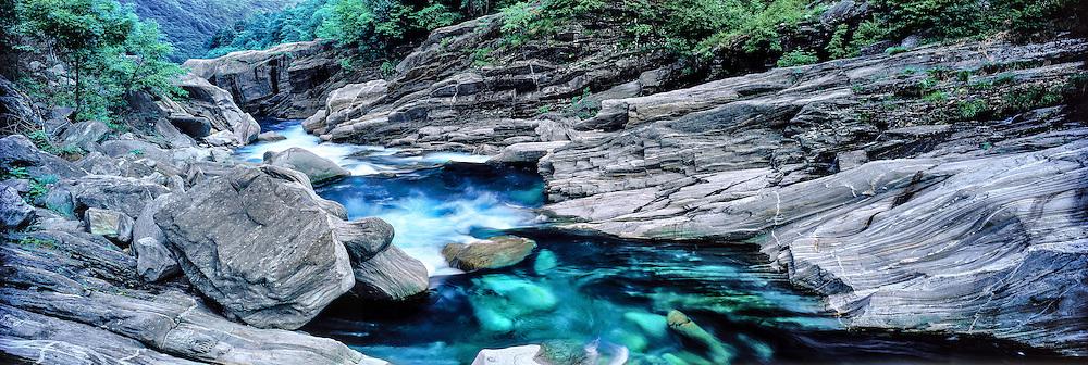 Val Verzasca river, Ticino, Switzerland