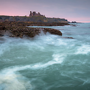 Tantallon castle from Seacliff bay, North Berwick