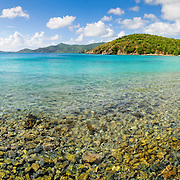 Coral Bay on St. John, US Virgin Islands.