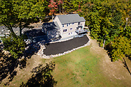 Bloomingburg, New York  - Aerial real estate photos of a house on Shawanga Lodge Road on Oct. 13, 2017.