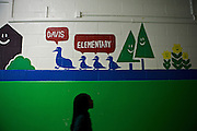 Last week DCPS Chancellor Kaya Henderson proposed closing 20 under-enrolled schools in the District. Adelaide Davis Elementary School  is one of 20 schools in the DCPS system included in the school closure proposal. ..CREDIT: Lexey Swall for The Wall Street Journal.DCSCHOOLS