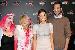 © Licensed to London News Pictures. Edinburgh Cineworld. Edinburgh International Film Festival, Aubrey Plaza, Jeff Baena, zombies, LIFE AFTER BETH,  26/06/2014, Photo Credit: M.Pocwiardowski/LNP