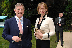 MAJOR GENERAL ARTHUR DENARO former Commandment of The Royal Military Academy Sandhurst and ARABELLA WINDHAM at a reception for the Friends of The Castle of Mey held at The Goring Hotel, London on 20th May 2008.<br /><br />NON EXCLUSIVE - WORLD RIGHTS