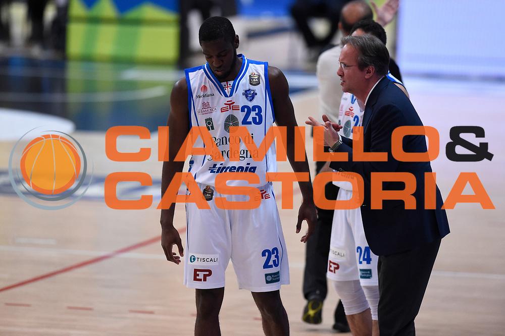 Carter Josh, Pasquini Federico<br /> Quarti di Finale Gara 2<br /> Legabasket A 2016,2017<br /> Trento 14,05,2017<br /> Foto Ciamillo-Castoria,GiulioCiamillo