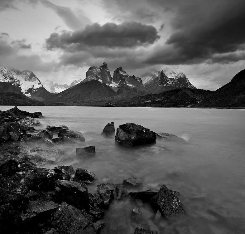 Incredible granite towers in Patagonia, Chile.