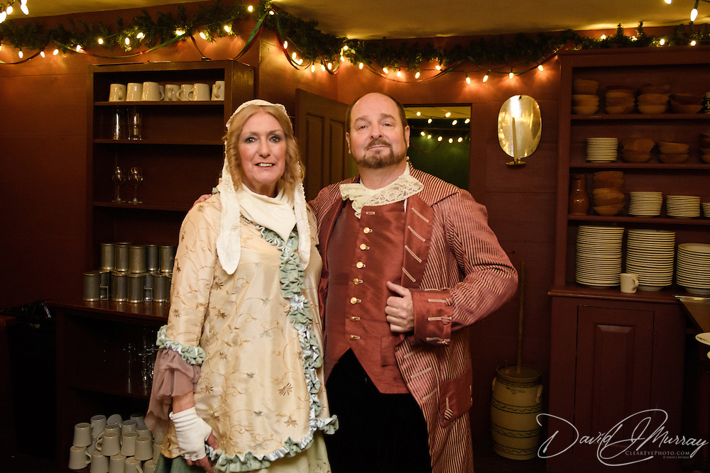 Taken at the Pitt Tavern Dinner during Candle Light Stroll at Strawbery Banke, December 2015