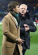 Boris Becker and his son Elias Becker attend the UEFA Champions League, round of 16, 1st leg football match between Chelsea and Bayern Munich on February 25, 2020 at Stamford Bridge stadium in London, England - Photo Juan Soliz / ProSportsImages / DPPI