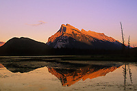 Mt Rundle and Vermilion Lakes, Banff National Park, Alberta, Canada