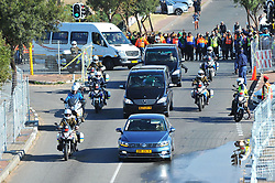 The funeral proceedings of the late struggle icon Winnie Madikizela-Mandela proceeds to Orlando Stadium in Soweto, Gauteng.<br />