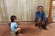Hill tribe village, Thailand