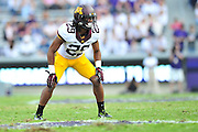 FORT WORTH, TX - SEPTEMBER 13:  Briean Boddy-Calhoun #29 of the Minnesota Golden Gophers looks on against the TCU Horned Frogs on September 13, 2014 at Amon G. Carter Stadium in Fort Worth, Texas.  (Photo by Cooper Neill/Getty Images) *** Local Caption *** Briean Boddy-Calhoun