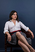 Daniela Vega is a Chilean trans actress and singer. Vega received critical acclaim for her acting debut in Sebastián Lelio's A Fantastic Woman. Vega was photographed in London.