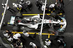 October 27, 2018 - Mexico-City, Mexico - Motorsports: FIA Formula One World Championship 2018, Grand Prix of Mexico, .#44 Lewis Hamilton (GBR, Mercedes AMG Petronas Motorsport) (Credit Image: © Hoch Zwei via ZUMA Wire)