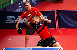 WOLLMERT Jochen (GER) and BAYLEY William John (GBR) during Team events at Day 4 of 16th Slovenia Open - Thermana Lasko 2019 Table Tennis for the Disabled, on May 11, 2019, in Dvorana Tri Lilije, Lasko, Slovenia. Photo by Vid Ponikvar / Sportida