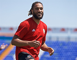 OSIJEK, CROATIA - Friday, June 7, 2019: Wales' captain Ashley Williams during a training session at Stadion Gradski vrt ahead of the UEFA Euro 2020 Qualifying Group E match against Croatia. (Pic by David Rawcliffe/Propaganda)