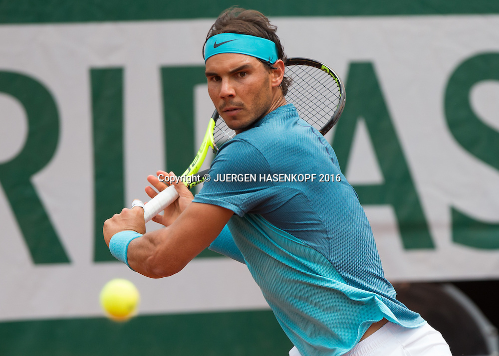 Rafael Nadal (ESP)<br /> <br /> Tennis - French Open 2016 - Grand Slam ITF / ATP / WTA -  Roland Garros - Paris -  - France  - 26 May 2016.