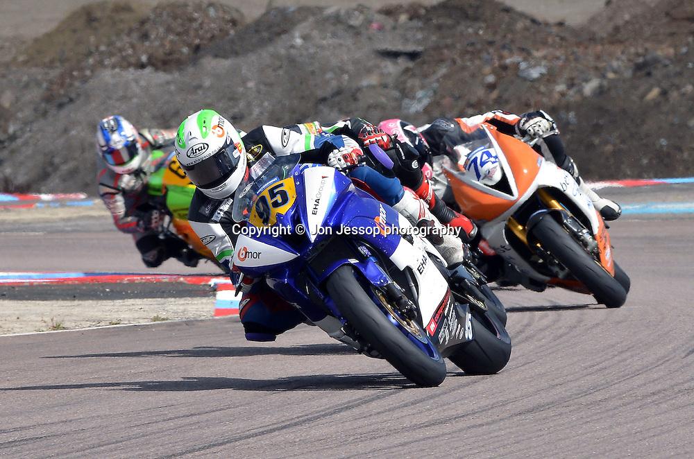 #95 David Allingham IN Competition Racing Yamaha British Supersport