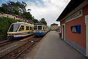 Centovalli Railway. Pontebrolla station.