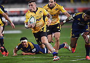 TJ Perenara during the Super Rugby Final between the Hurricanes and Highlanders at Westpac Stadium in Wellington., New Zealand. Saturday 4 July 2015. Copyright Photo: Andrew Cornaga / www.Photosport.nz